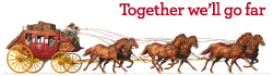 Together We'll Go Far Logo